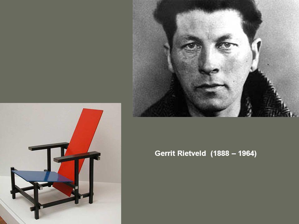 Gerrit Rietveld (1888 – 1964)