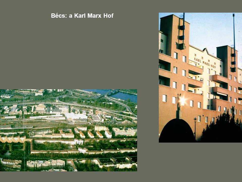 Bécs: a Karl Marx Hof