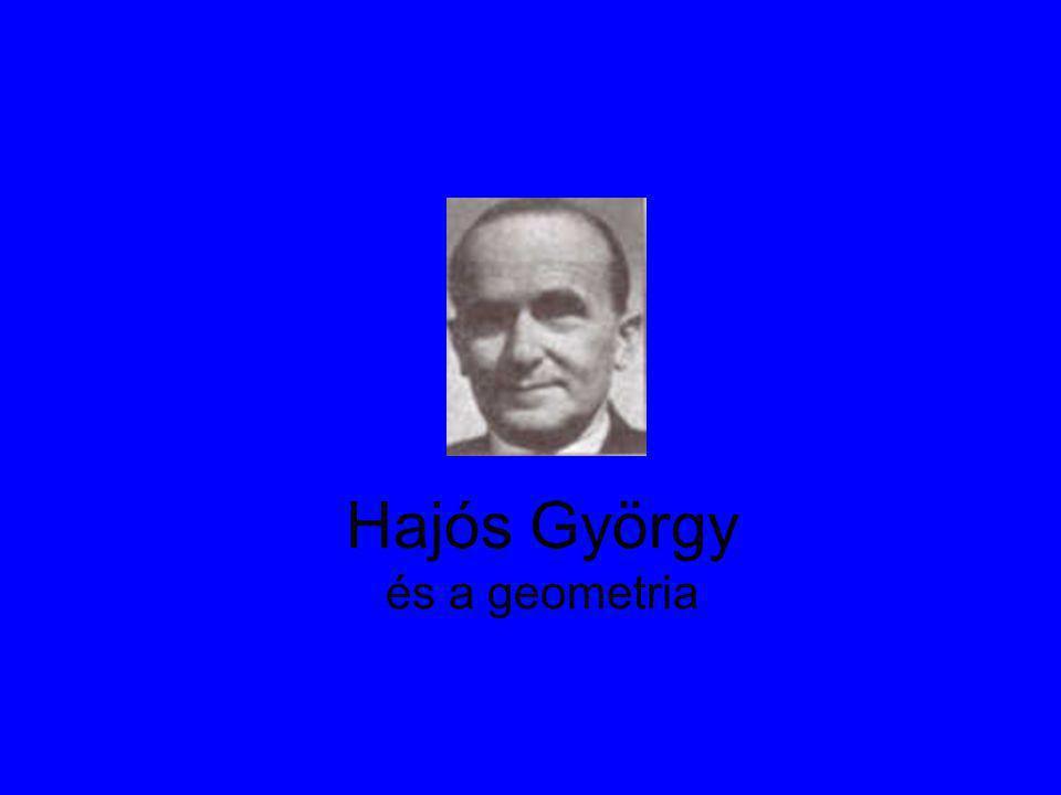 Hajós György és a geometria