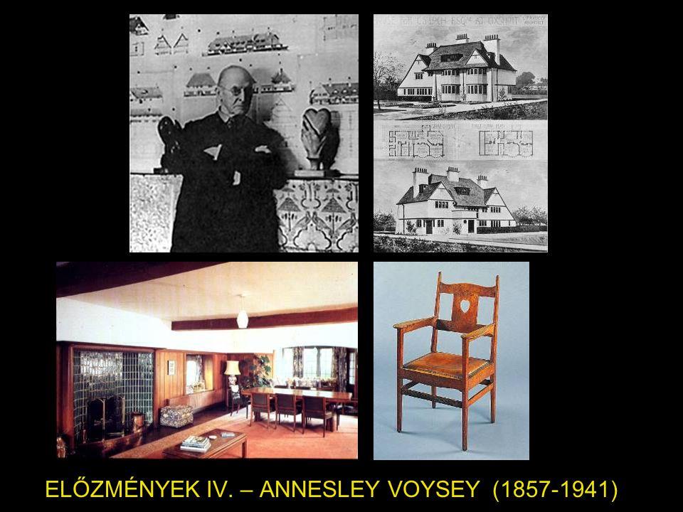 ELŐZMÉNYEK IV. – ANNESLEY VOYSEY (1857-1941)