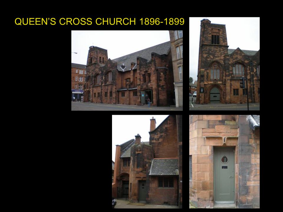 QUEEN'S CROSS CHURCH 1896-1899