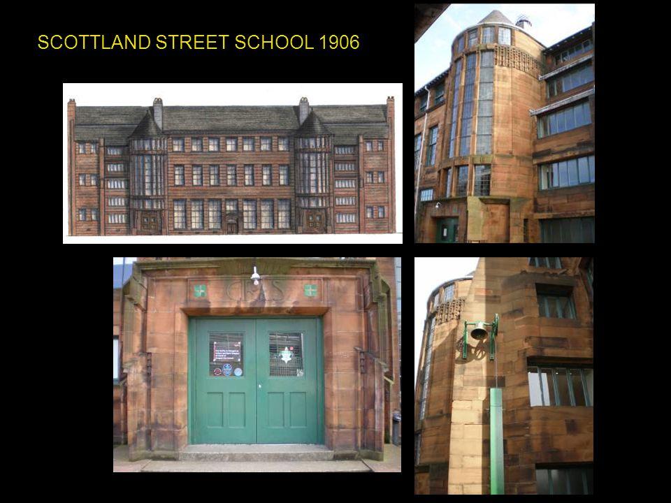 SCOTTLAND STREET SCHOOL 1906