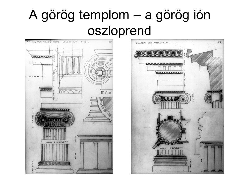 Az athéni Acropolis építészeti programja A Propylaion, (437-432) Mnesiclés
