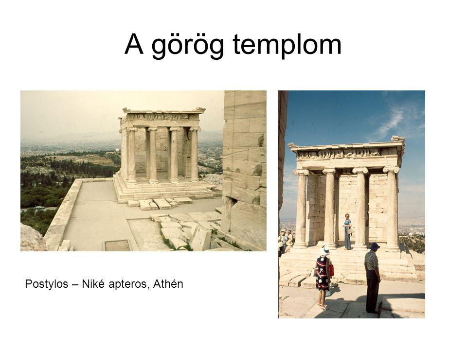 A görög templom Postylos – Niké apteros, Athén