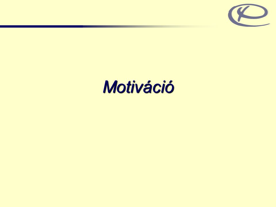 BME Ergonómia és Pszichológia Tanszék www.erg.bme.hu 2 A motiváció fogalma Minden belső, cselekvésre ösztönző tényező (Barkóczy) Az élőlénynek a tevékenység végzésére irányuló tendenciája (Hebb)