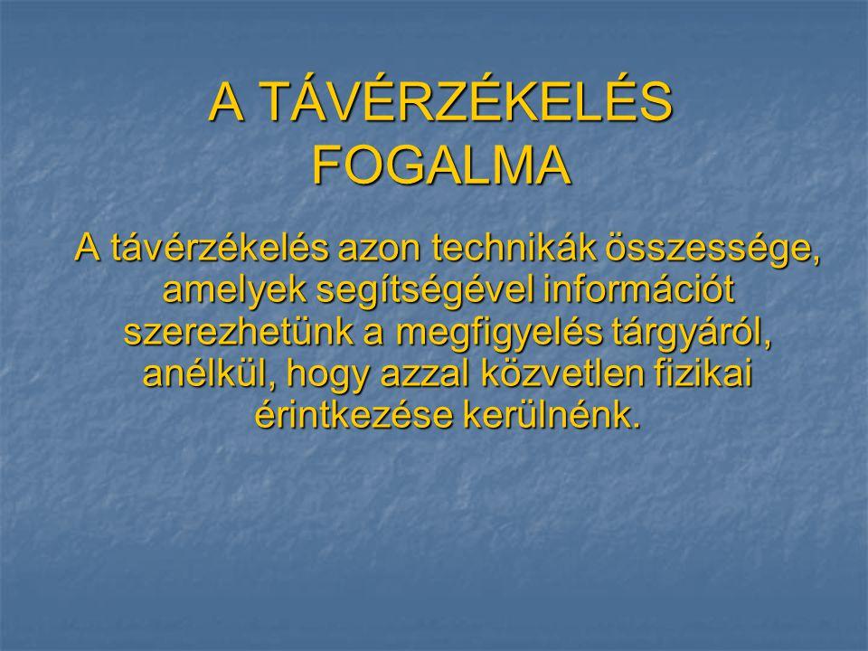 MŰHOLDAK: LANDSAT MSS 7 Forrás: http://www.agt.bme.hu/tutor_h/terinfor/t34a.htm