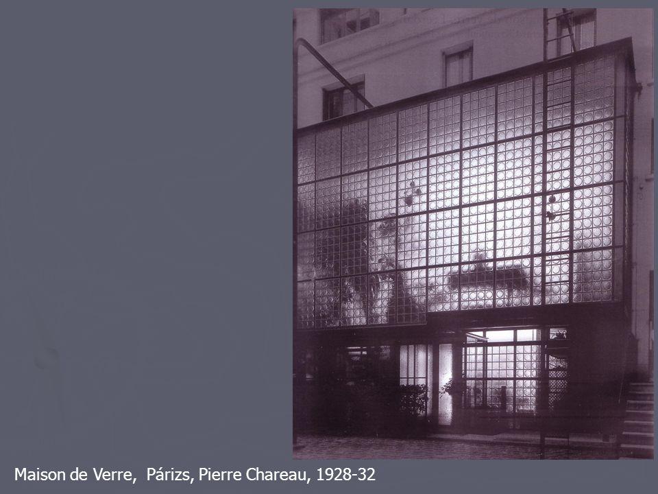 Maison de Verre, Párizs, Pierre Chareau, 1928-32