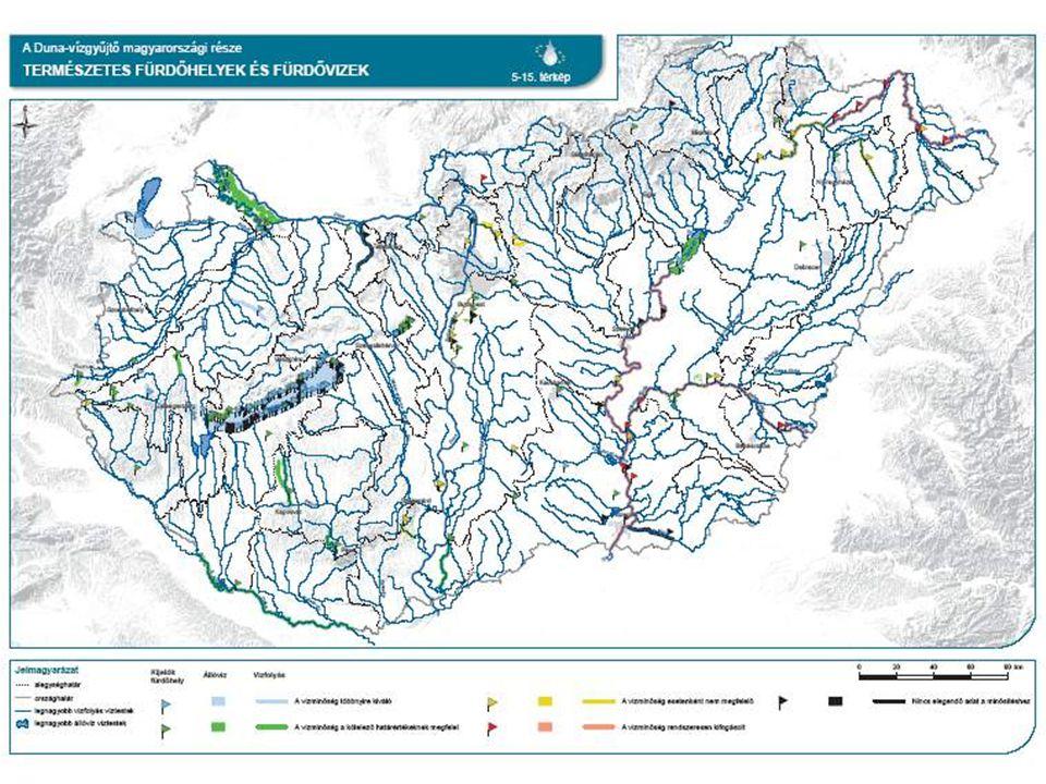 """Hazai alkalmazás: jogszabályi környezet A Víz Keretirányelv monitoringra vonatkozó speciális előírásai: """"a felszíni vizek megfigyelésének és állapotértékelésének egyes szabályairól szóló 31/2004."""