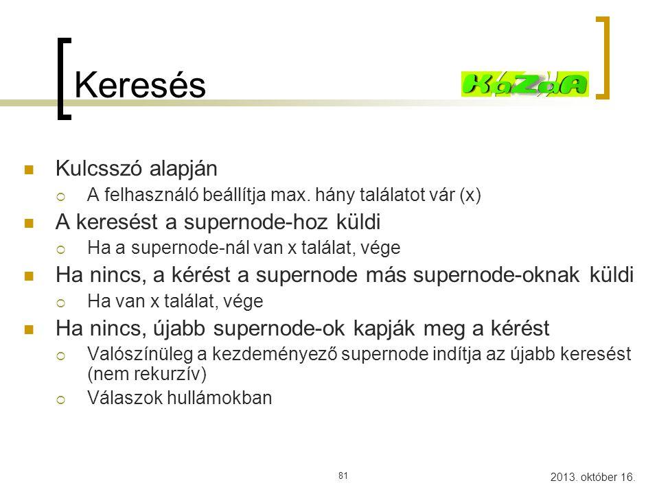 2013. október 16. 82 Kazaa A B Keresem a ricky.mp3 fájlt B-nek megvan Közvetlen letöltés