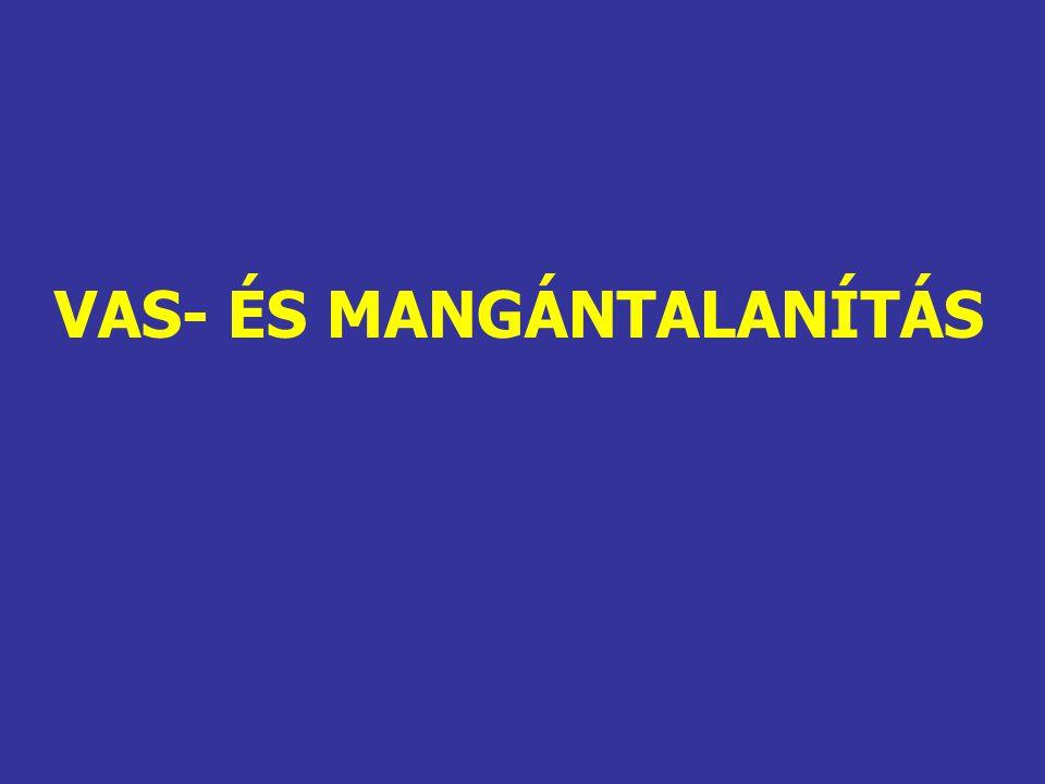 VAS- ÉS MANGÁNTALANÍTÁS