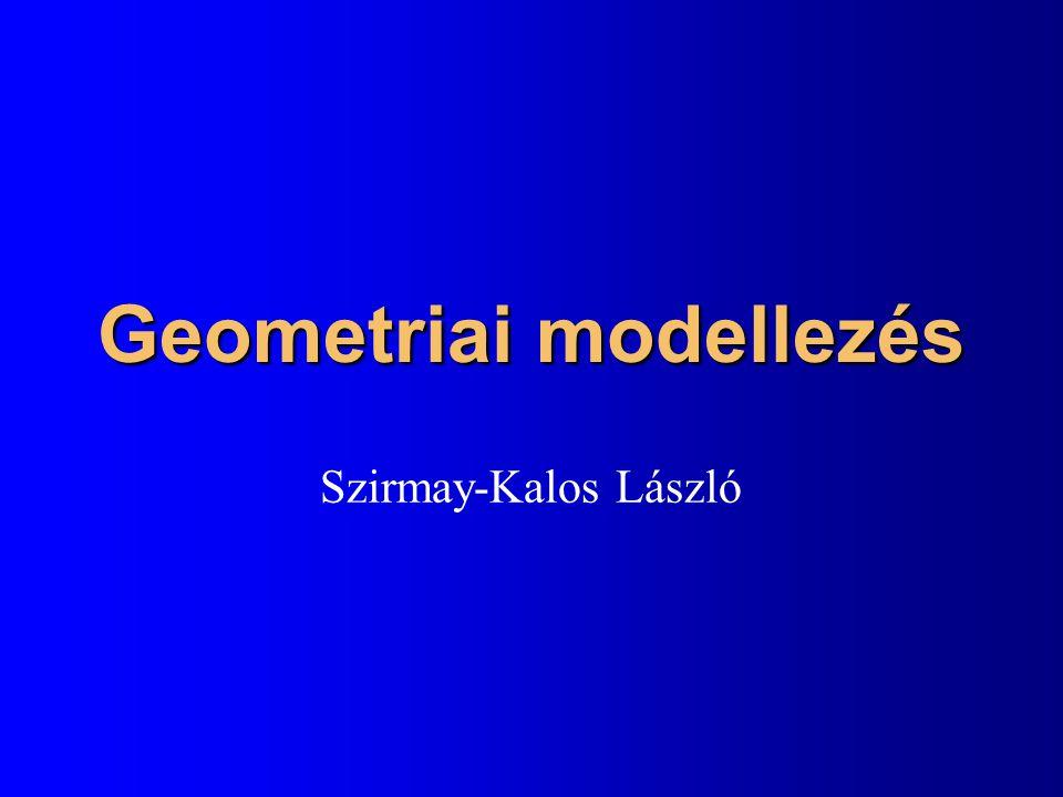 Számítógépes grafika elemei képszintézis Virtuális világ modell modellezés számok