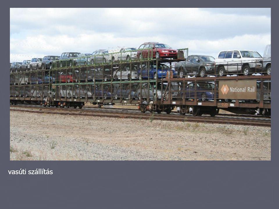 vasúti szállítás