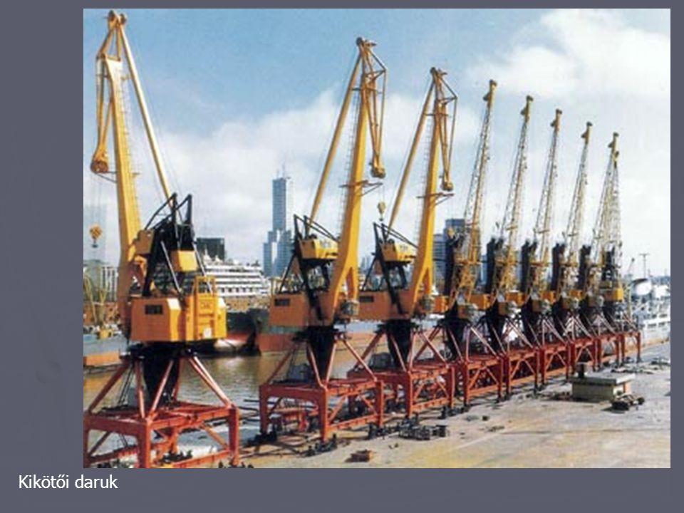 konveyor: sínrendszeren összekapcsolt kis kocsik