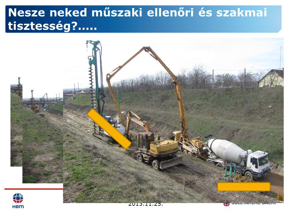 BMGE Mérnöketika 2013.11.25. Nesze neked műszaki ellenőri és szakmai tisztesség?…..