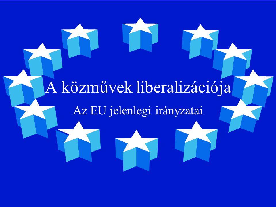 A közmű-liberalizáció ideológiai alapja Az aláírt csatlakozási szerződés.