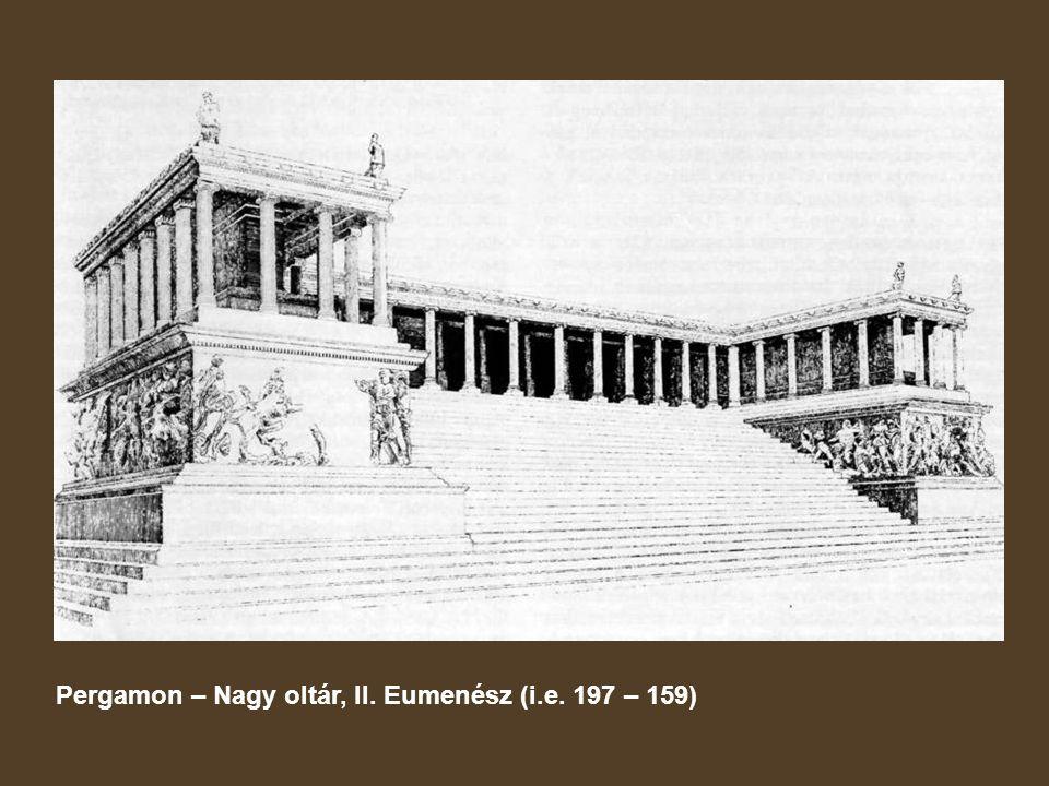 Pergamon – Nagy oltár, II. Eumenész (i.e. 197 – 159)