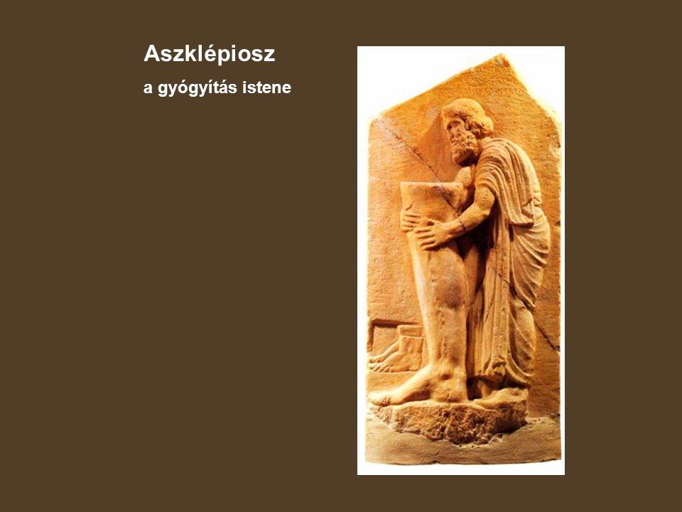 Aszklépiosz a gyógyítás istene