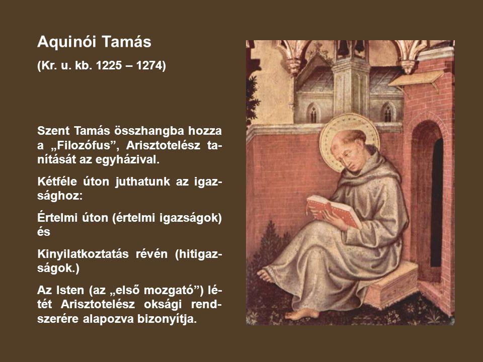 Aquinói Tamás (Kr.u. kb.