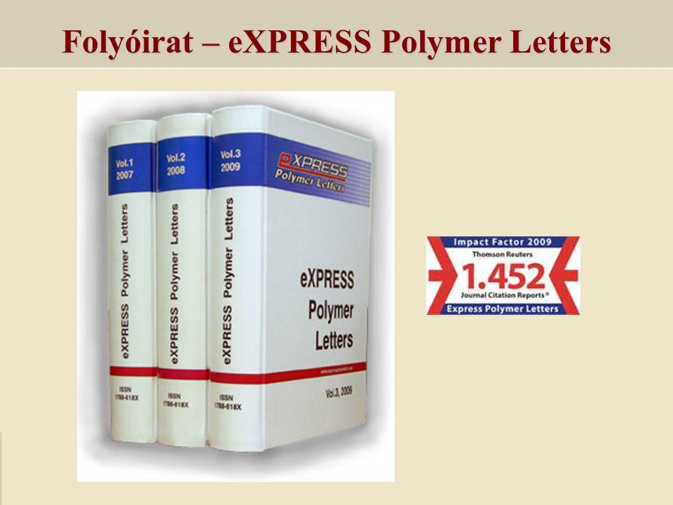 Folyóirat – eXPRESS Polymer Letters