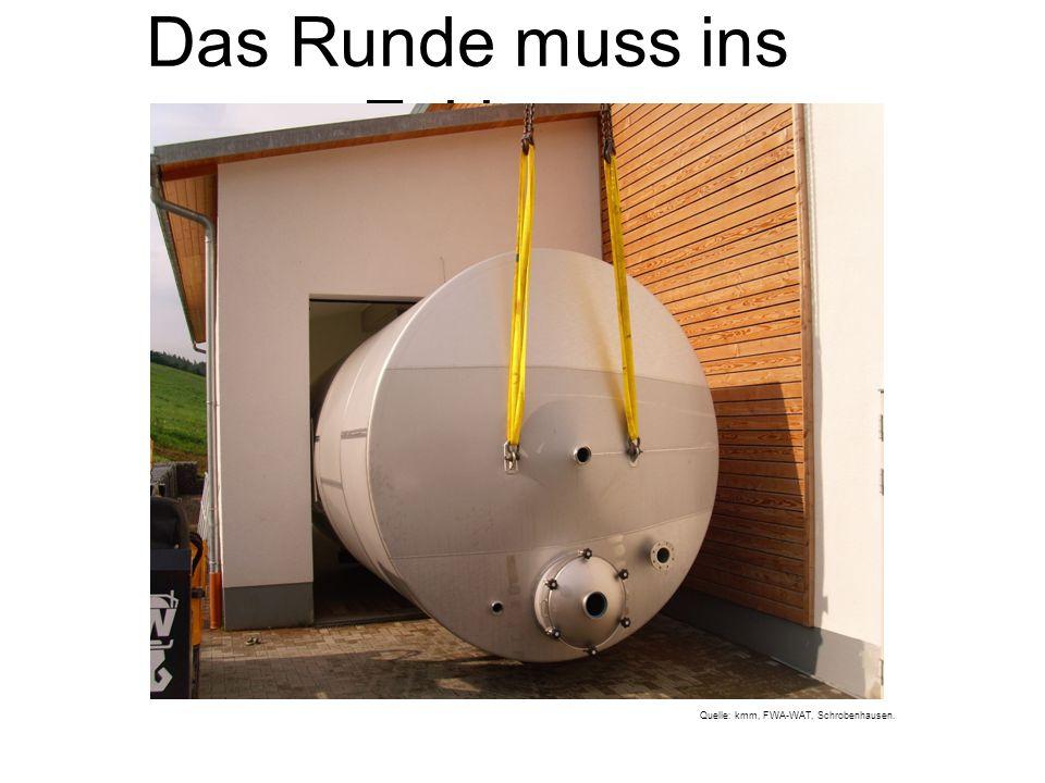 Das Runde muss ins Eckige Quelle: kmm, FWA-WAT, Schrobenhausen.