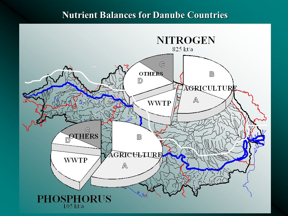 Nutrient Balances for Danube Countries