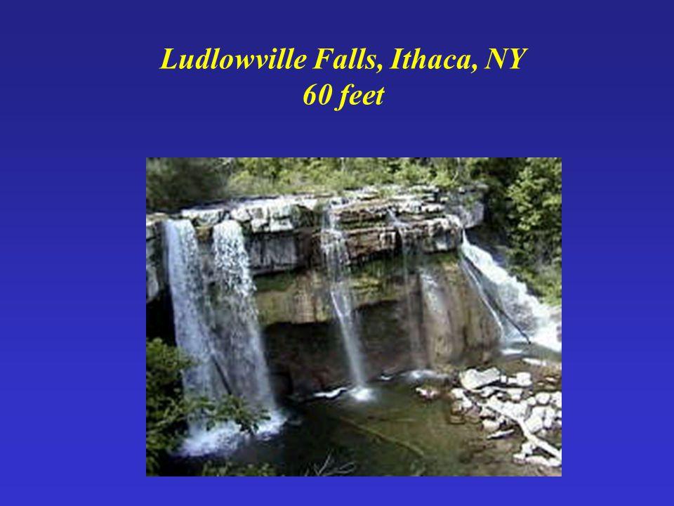 Ludlowville Falls, Ithaca, NY 60 feet