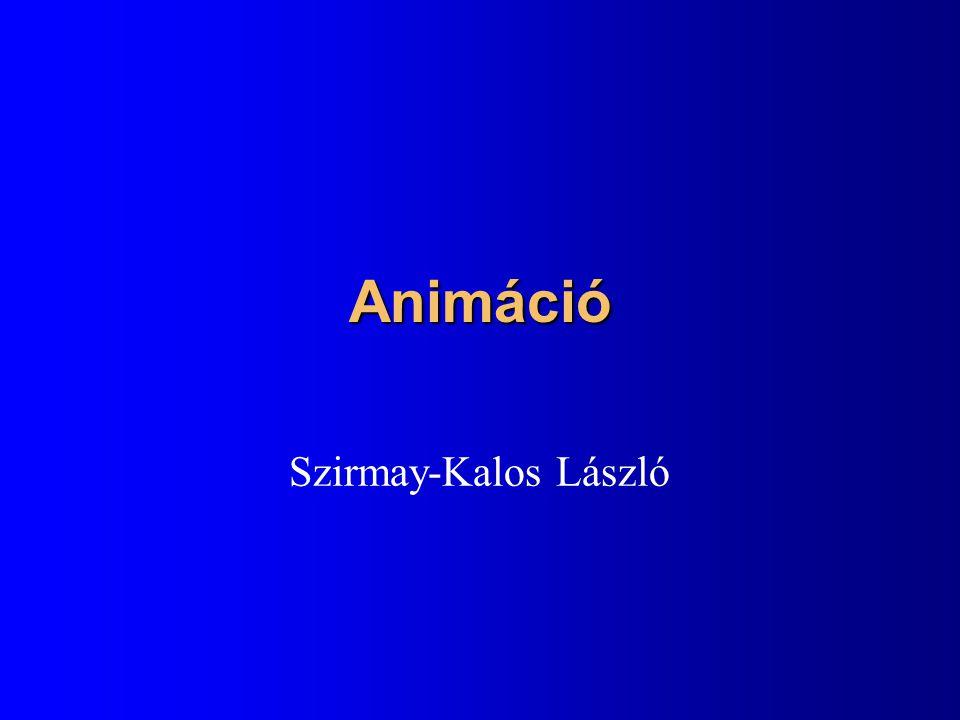 Animáció Szirmay-Kalos László
