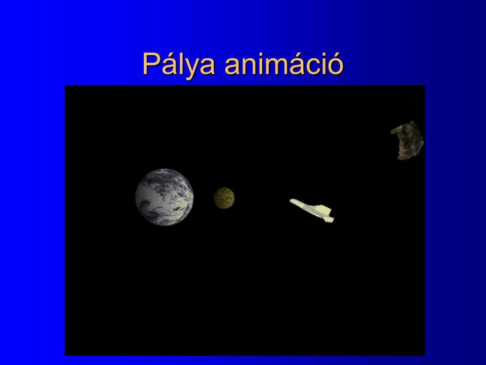 Pálya animáció