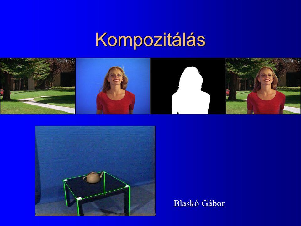 Kompozitálás Blaskó Gábor