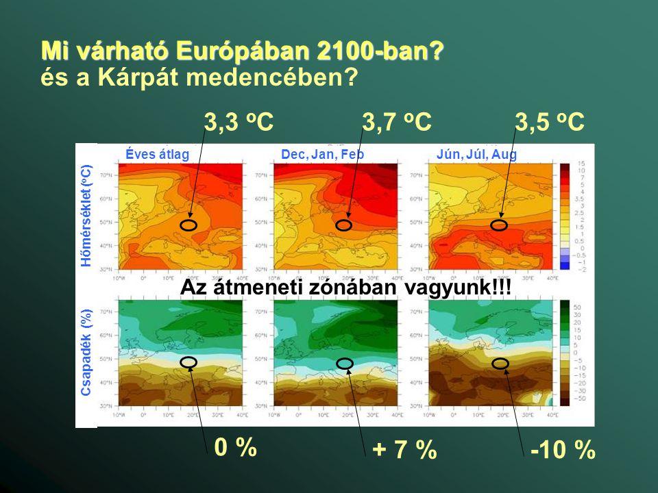 Mi várható Európában 2100-ban.
