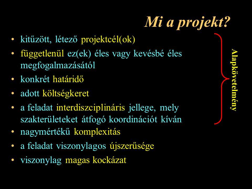 Mi a projekt.