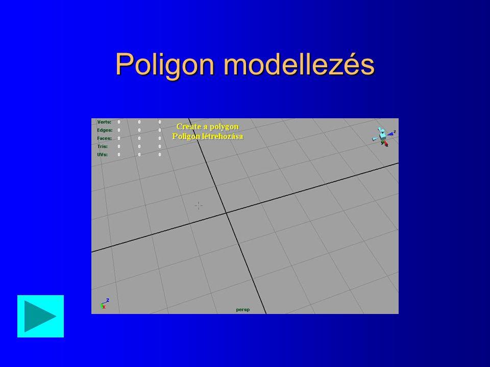 Poligon modellezés