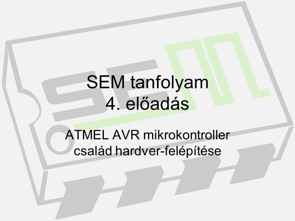 Mi az mikrokontroller? Programozható eszköz, melyet program által vezérelhetünk.