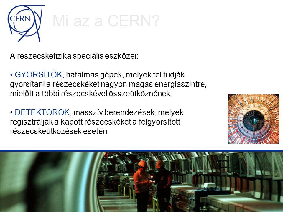 LHC adat Az LHC adat kb.20 millió CD-nek felel meg évente.