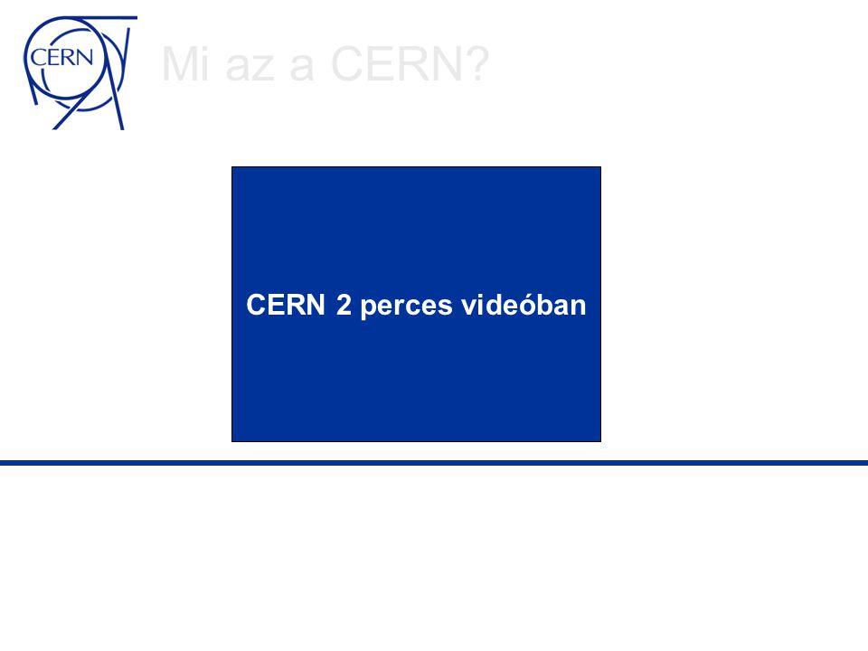 Grid @ CERN A Grid egy megoldás az LHC számítástechnika igényeire  CERN érintett sok Grid fejlesztési törekvésben világszerte