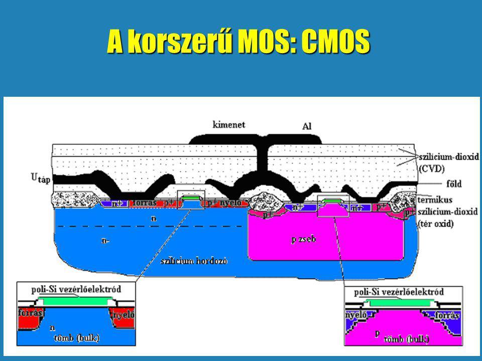A korszerű MOS: CMOS