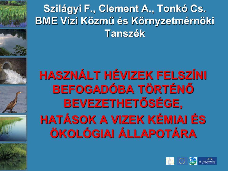 Szilágyi F., Clement A., Tonkó Cs.