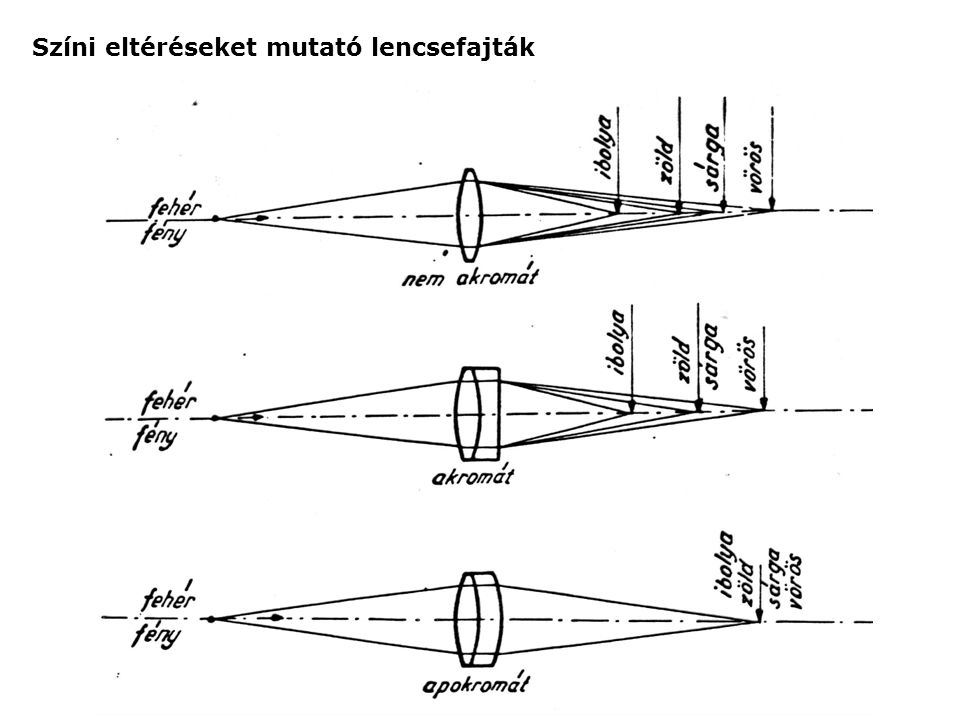 Gömbi eltéréseket mutató lencsefajták
