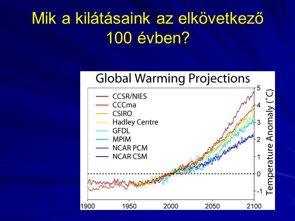 Mik a kilátásaink az elkövetkező 100 évben?
