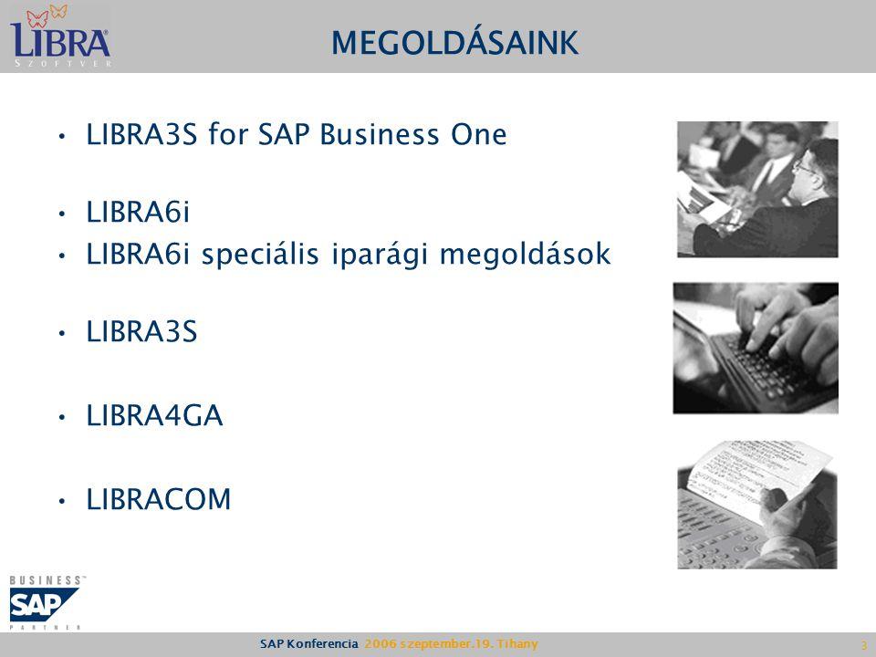 SAP Konferencia 2006 szeptember.19.
