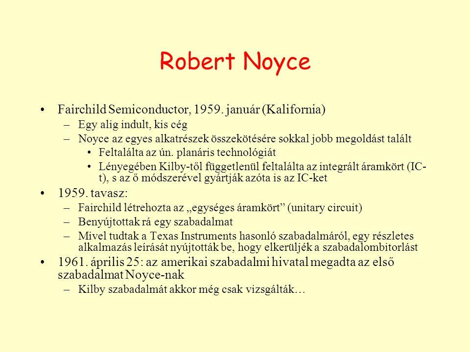 Robert Noyce Fairchild Semiconductor, 1959.
