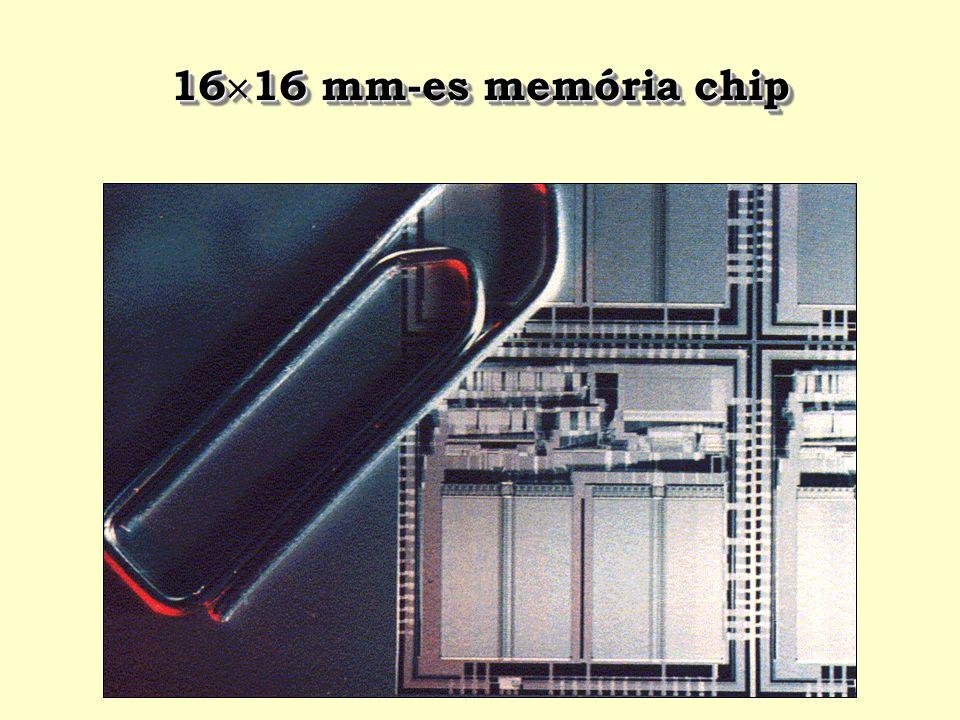 16  16 mm-es memória chip