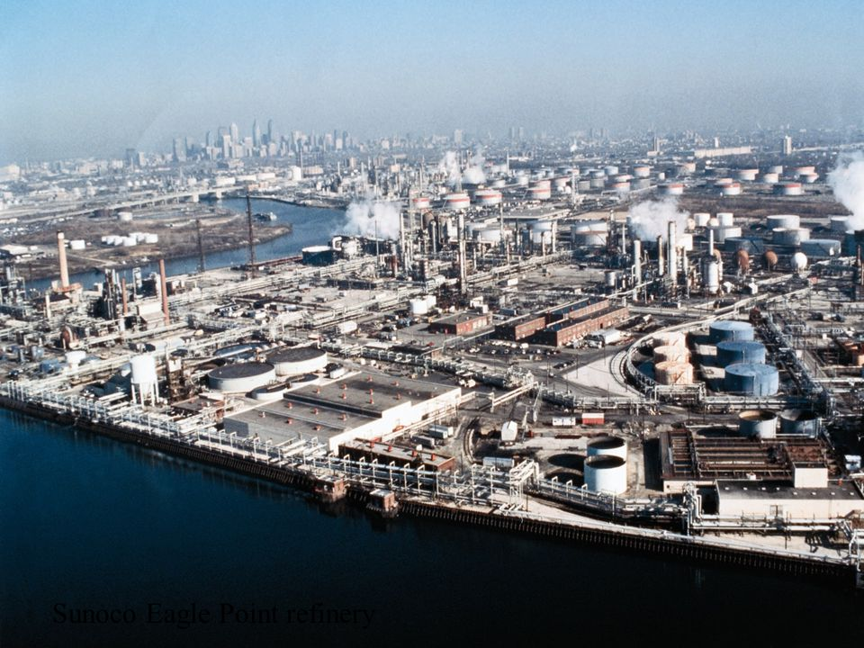 3 Sunoco Eagle Point refinery