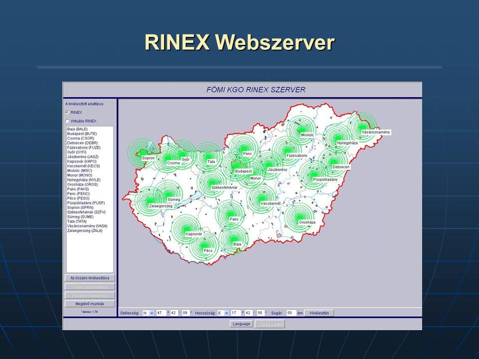 RINEX Webszerver