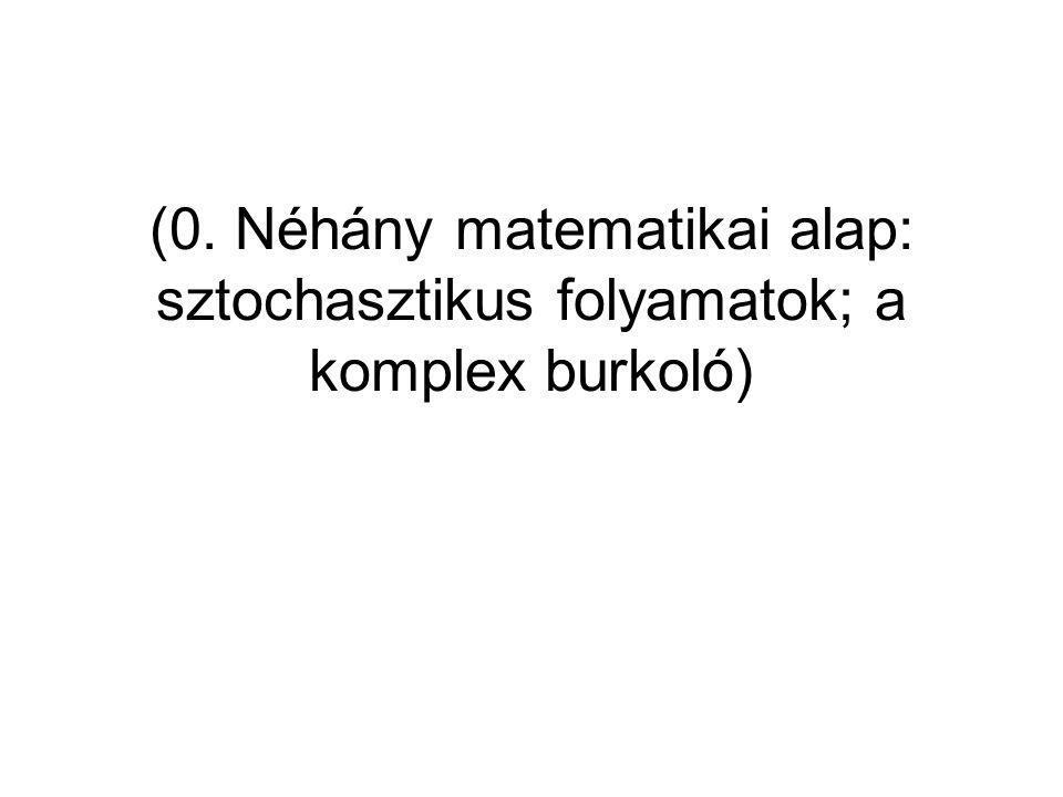 Frigyes: Hírkelm15 Sztochasztikus folyamatok: stacionárius folyamatok Precíz definíciók – mi az, hogy állandó jellegű.