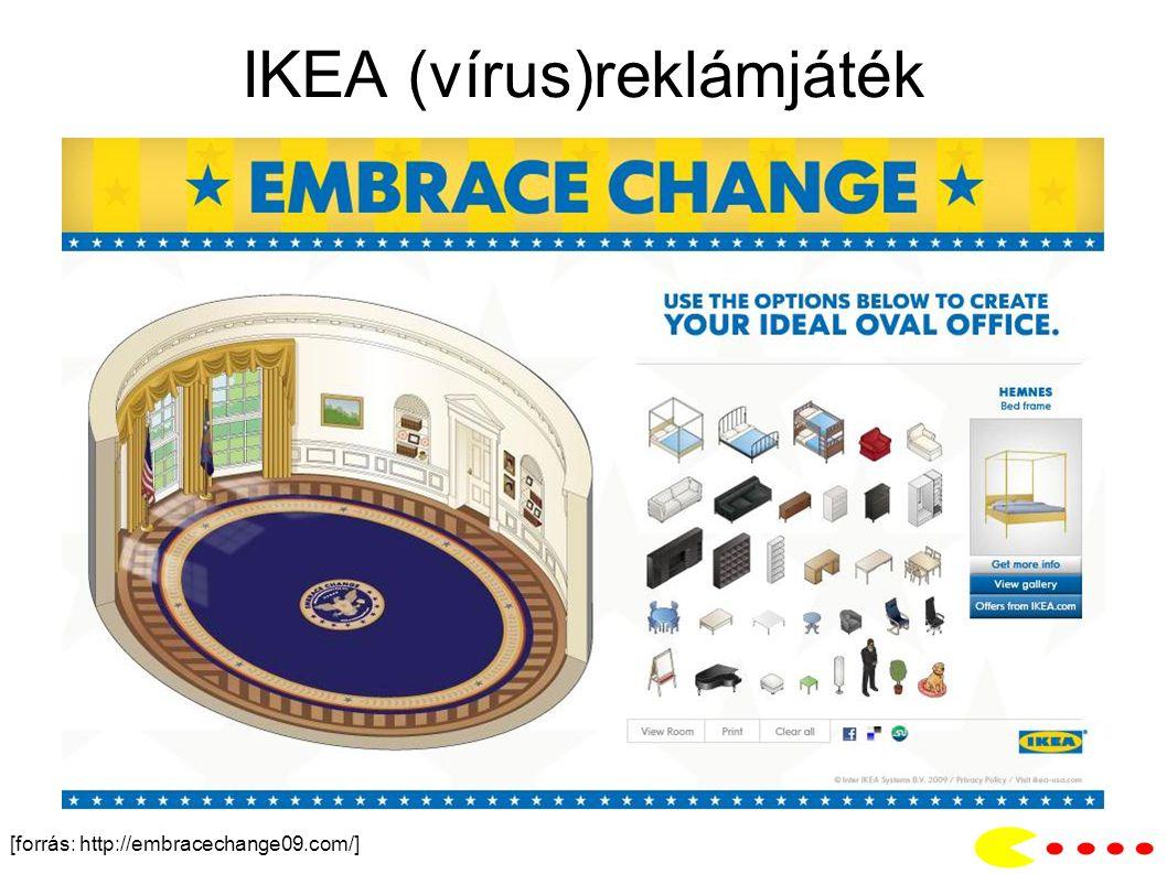 IKEA (vírus)reklámjáték [forrás: http://embracechange09.com/]