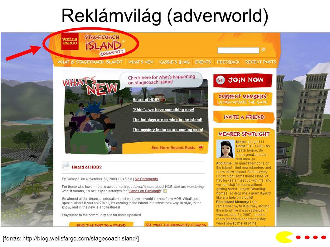 Reklámvilág (adverworld) [forrás: http://blog.wellsfargo.com/stagecoachisland/]