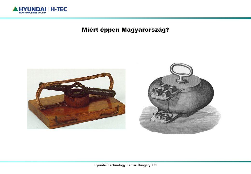 Miért éppen Magyarország? Hyundai Technology Center Hungary Ltd