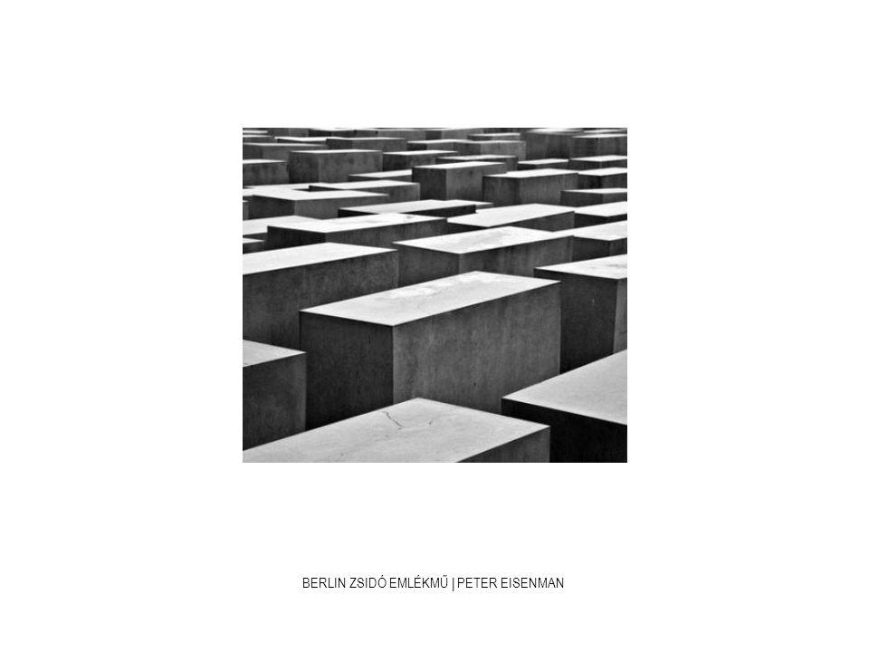 BERLIN ZSIDÓ EMLÉKMŰ | PETER EISENMAN