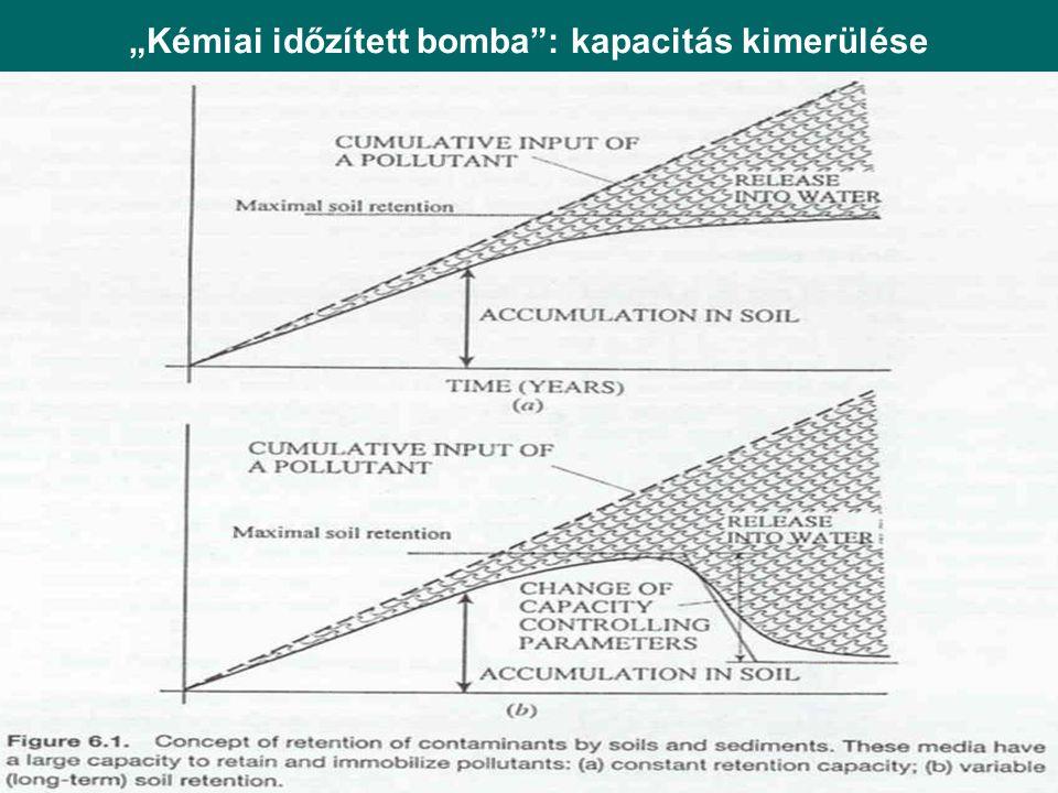 """""""Kémiai időzített bomba"""": kapacitás kimerülése"""